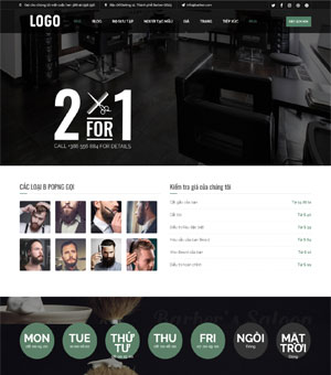 mẫu website spa 12